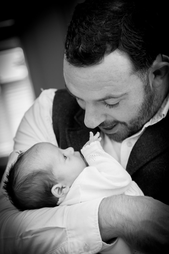 Baby portraits taken at your home by Pinner Portrait Photography
