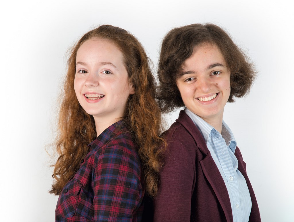 Sisters photographed by Pinner Portrait Photography Hertfordshire
